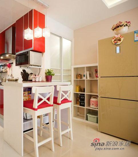 混搭 一居 厨房图片来自用户1907689327在8万打造屌丝的紧凑型婚房68的分享