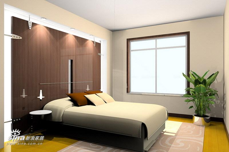 简约 三居 卧室图片来自用户2739378857在奥林春天户型设计94的分享