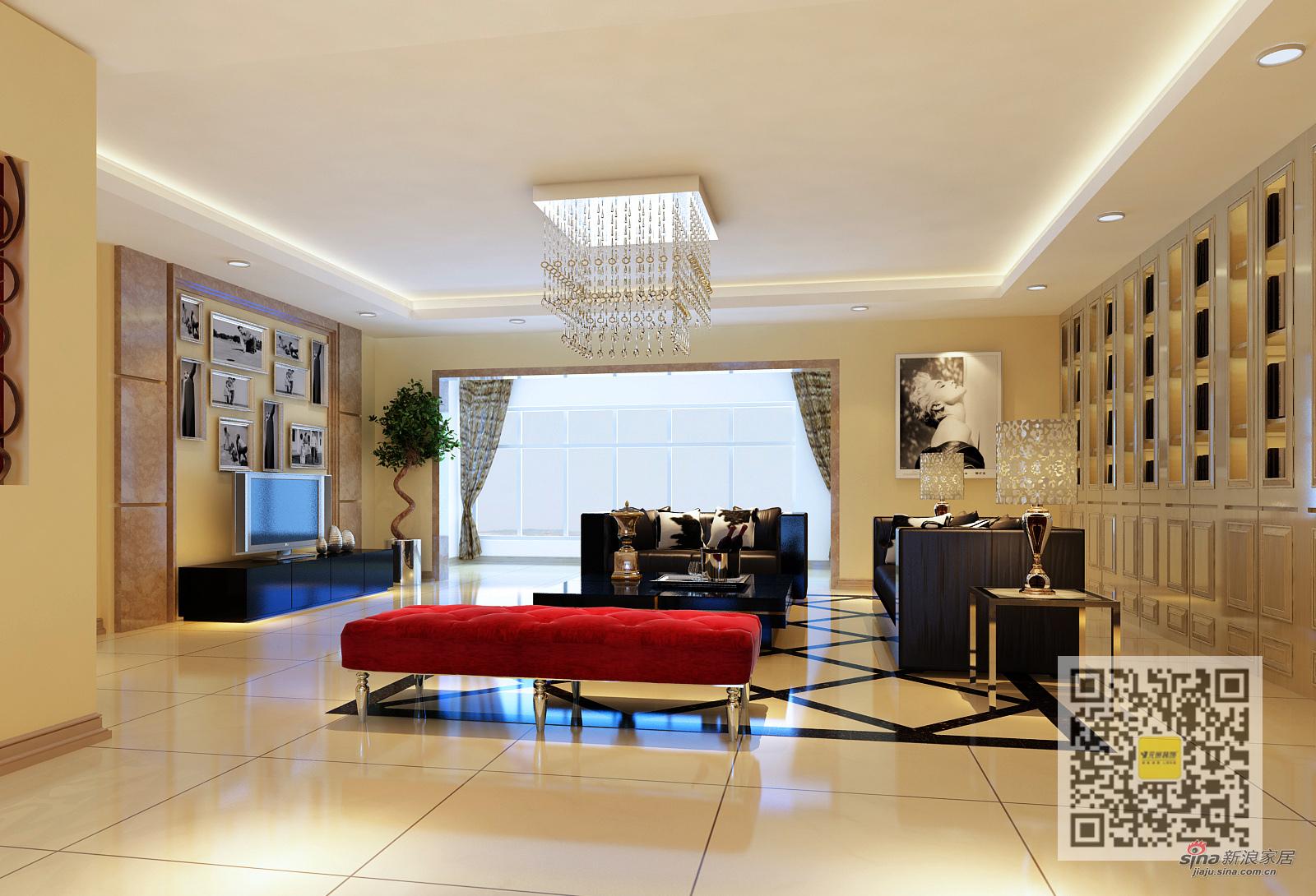 简约 四居 客厅图片来自用户2739081033在领袖新硅谷简约· 奢华四居室51的分享