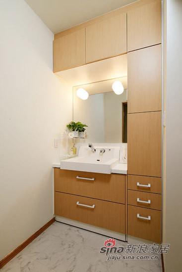收纳超强卫生间洗漱区设计图