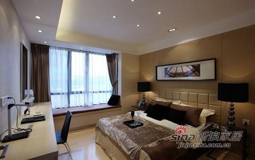 港式 三居 卧室图片来自佰辰生活装饰在7万打造110平港式时尚新居86的分享