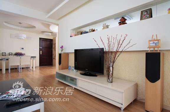 简约 二居 客厅图片来自用户2739081033在福汇苑47的分享