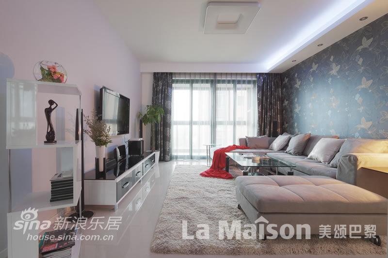 简约 二居 客厅图片来自用户2737759857在美颂巴黎现代简约87的分享