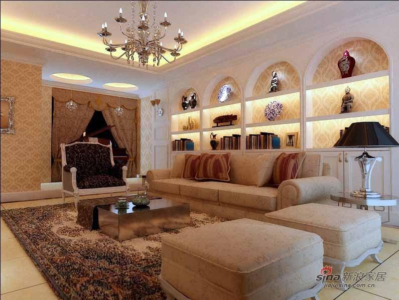 简约 一居 客厅图片来自用户2737786973在复地别墅高贵之选10的分享