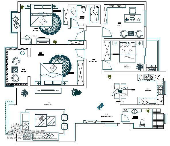欧式 二居 其他图片来自用户2757317061在简约欧式之二室两厅样板间43的分享