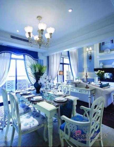地中海 复式 餐厅图片来自用户2757320995在美人鱼的奢华世界 82平方梦幻感蓝色复式家装41的分享