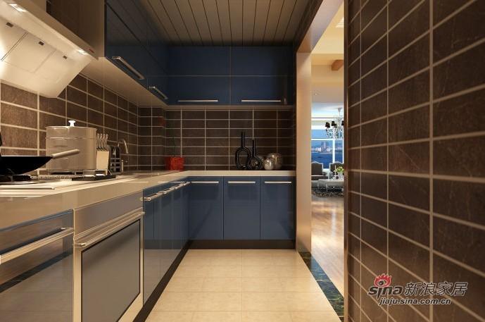 欧式 三居 厨房图片来自用户2772856065在6.7W装扮你现代简欧风格的三居室38的分享