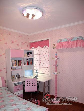 女儿的房间,女儿的粉色主义,很可爱的衣架