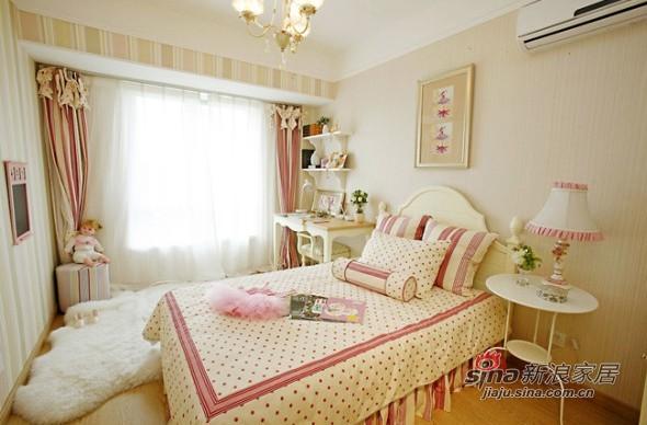 欧式 三居 儿童房图片来自用户2557013183在8万美装140平欧式大气3居23的分享