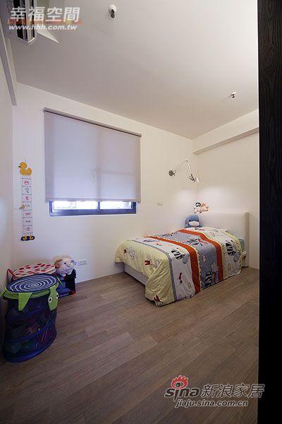 简约 三居 儿童房图片来自幸福空间在99平三房两厅时尚简约风格44的分享