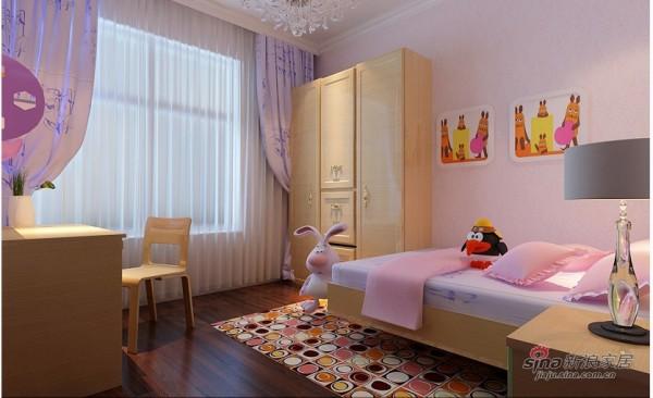 美式乡村-装修效果图-儿童房:儿童房在设