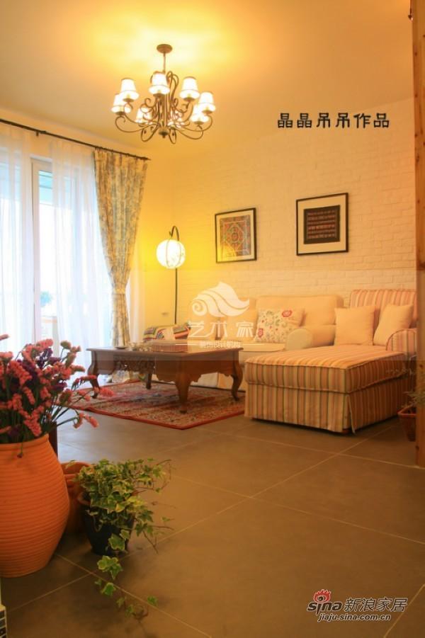 卓锦城 128平中式混搭地中海装修