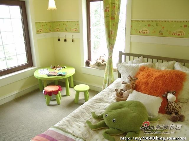 简约 三居 卧室图片来自用户2737786973在300平别墅22的分享