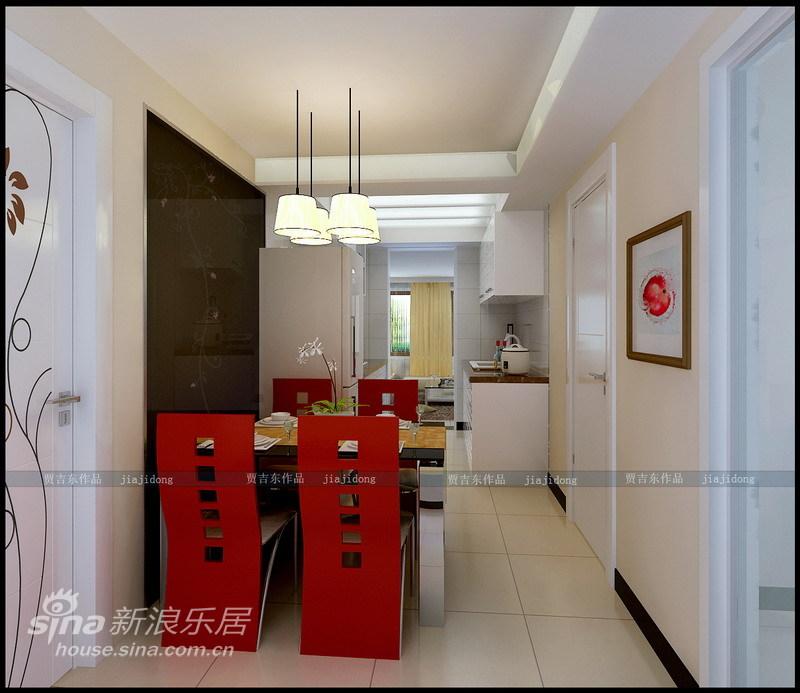 简约 二居 餐厅图片来自用户2557010253在旧房翻新:时尚前卫小两居98的分享