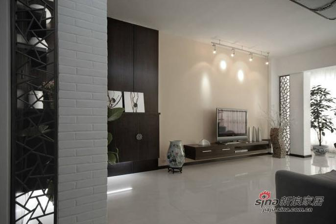 中式 三居 客厅图片来自用户1907662981在9万装128平新中式风格婚房55的分享