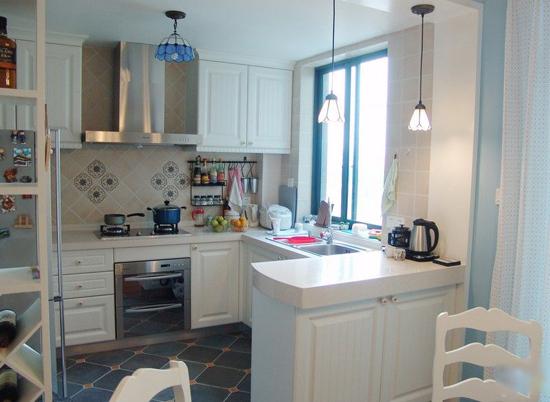 地中海 三居 厨房图片来自用户2757320995在7.2万铸造地中海风情三居室56的分享