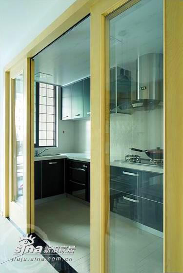 简约 三居 厨房图片来自用户2738813661在3房实景案例35的分享