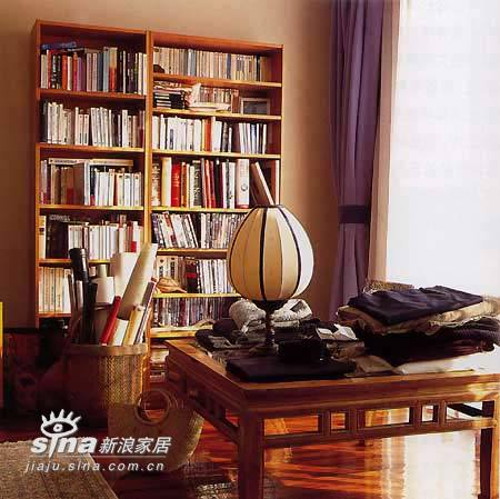 中式 跃层 书房图片来自用户2740483635在另类前卫的中式装修96的分享