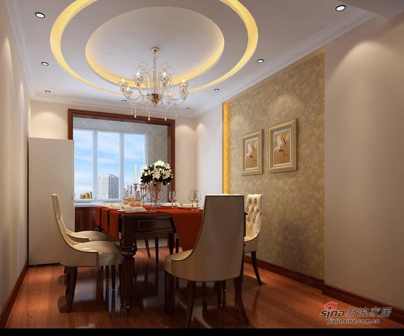 欧式 三居 客厅图片来自用户2746948411在9万营造140平大气而高贵的现代欧式风格三居51的分享