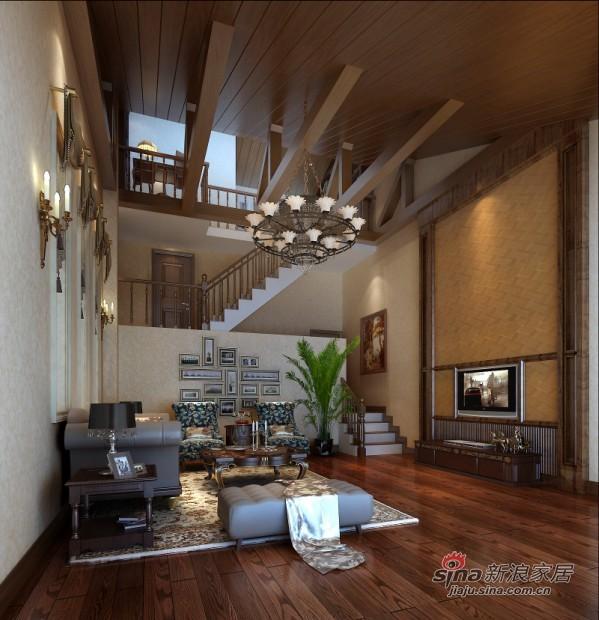 欧美式风格客厅设计
