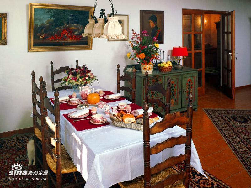 欧式 其他 餐厅图片来自用户2746953981在田园风格新时尚 家居的自然清新原色(二)37的分享