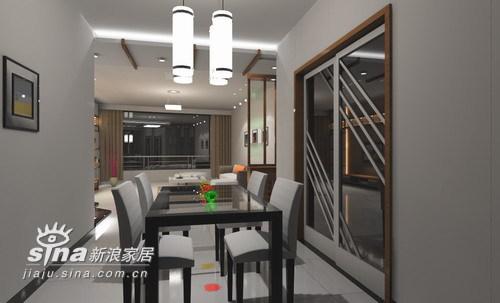 中式 三居 餐厅图片来自wulijuan_16在电力新村88的分享