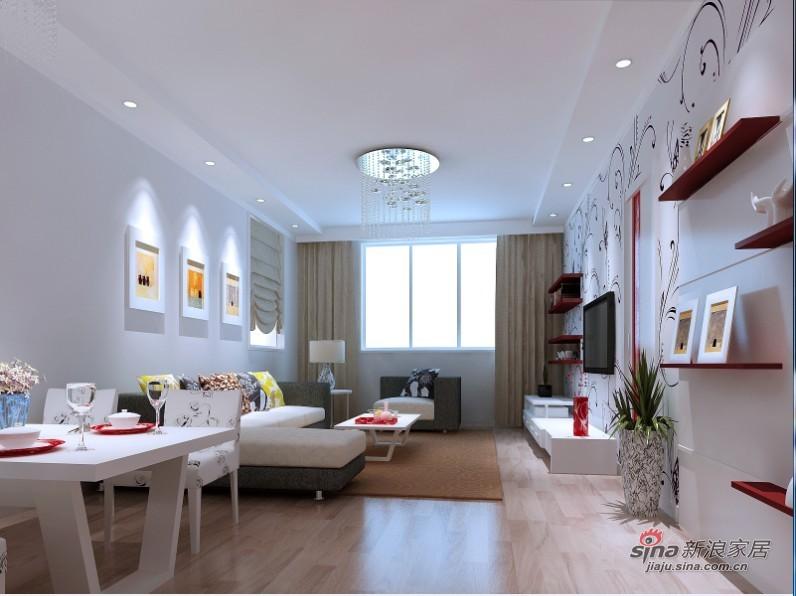 简约 二居 客厅图片来自用户2739378857在现代风格 简约生活17的分享