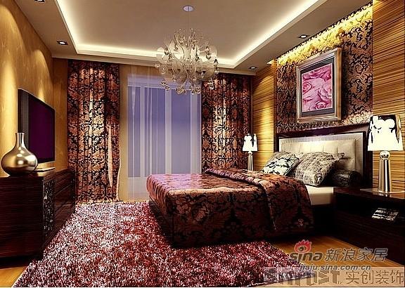 简约 一居 卧室图片来自用户2739081033在5万巧装现代90平奢华2居79的分享