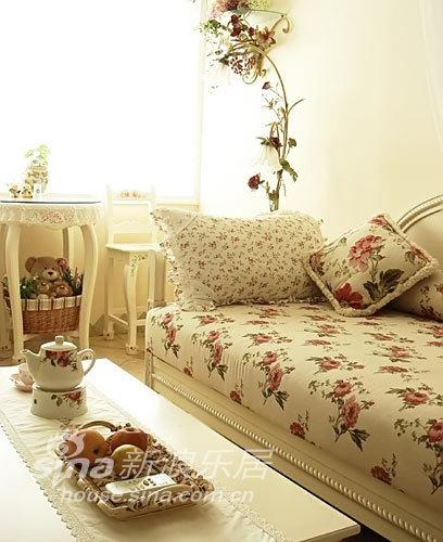 田园 二居 客厅图片来自用户2557006183在宅女温馨田园二居42的分享