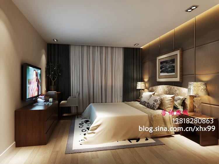 简约 二居 卧室图片来自用户2745807237在简约而简单95平2居纯净而不单调85的分享