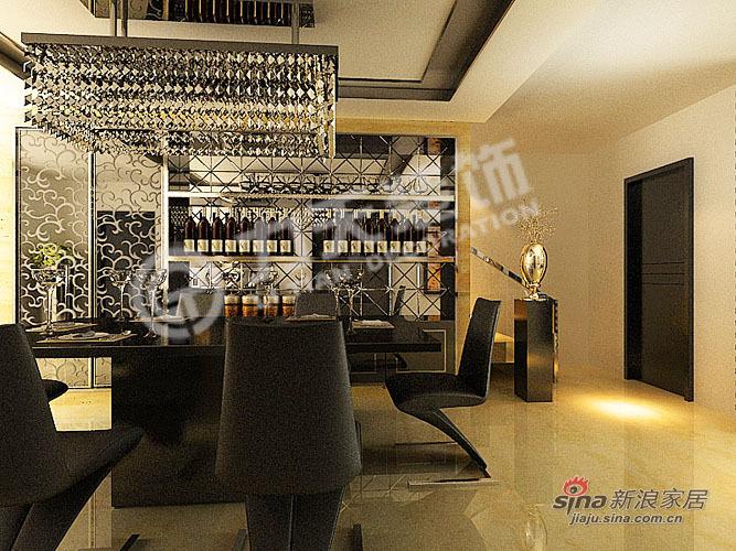 欧式 别墅 餐厅图片来自阳光力天装饰在216平空间优化通用陆院70的分享