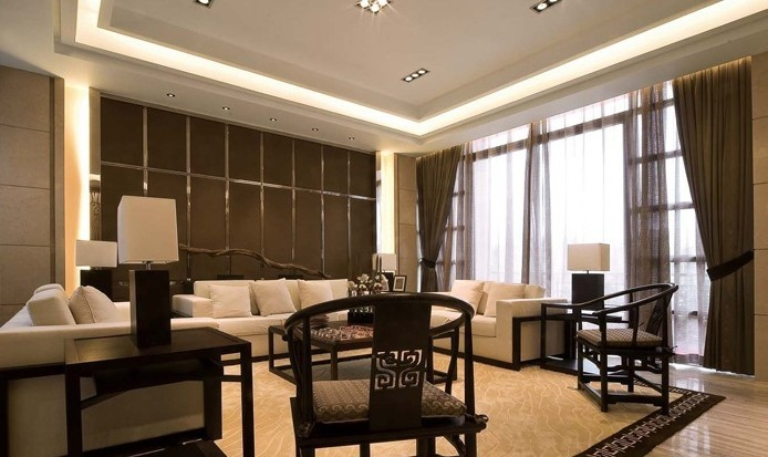 中式 三居 客厅图片来自用户1907662981在14.5万铸造中式风格160平爱家60的分享