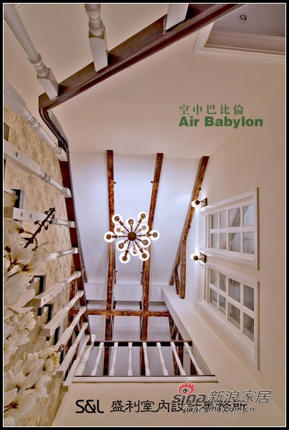 欧式 跃层 客厅图片来自用户2757317061在空中巴比伦90的分享