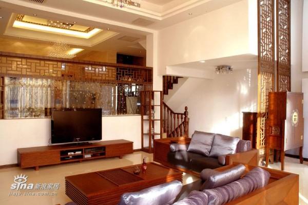 中式 别墅 客厅图片来自用户2748509701在新中式26的分享