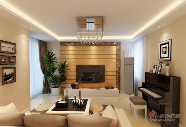 暖色调客厅
