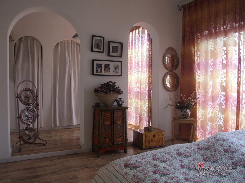田园 复式 卧室图片来自用户2737791853在世外桃源46的分享