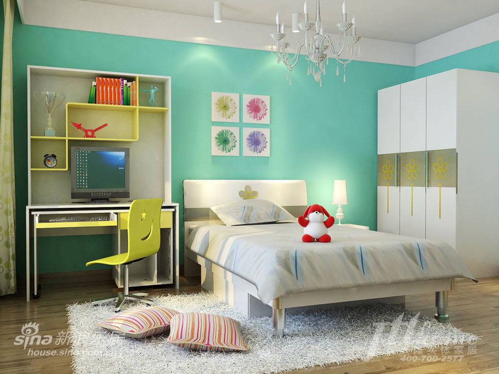 简约 三居 儿童房图片来自用户2738820801在新中式风格 让古典的美丽穿越时光的界限24的分享