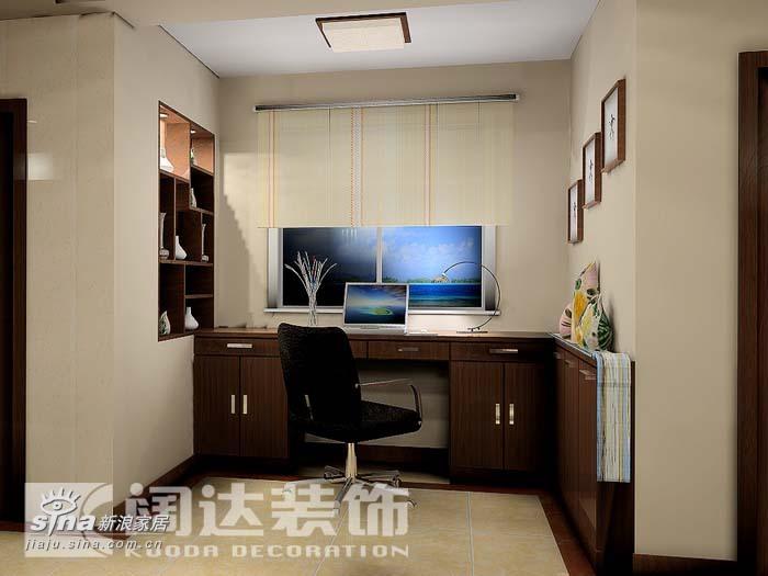 简约 三居 书房图片来自用户2557010253在阔达装饰—壹线国际11的分享
