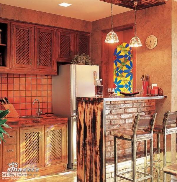 其他 一居 厨房图片来自用户2558746857在复古而绚丽的小户型闺房90的分享