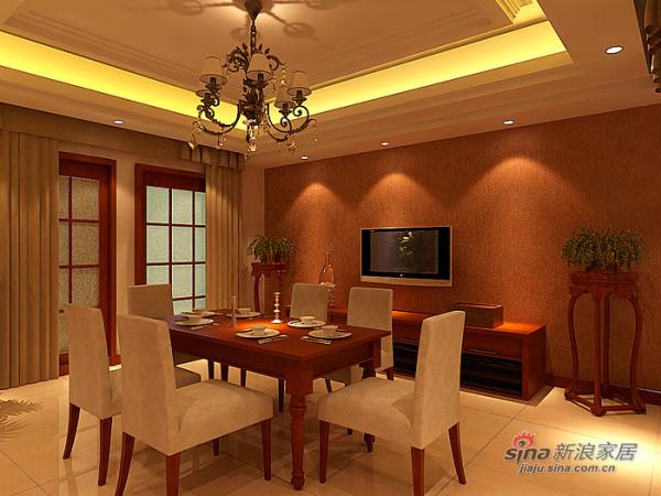 豪华新中式三居室设计效果图