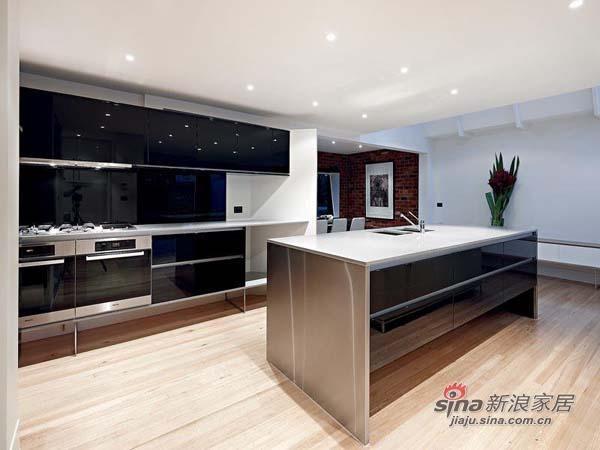 简约 别墅 厨房图片来自用户2738813661在单身男士超爱的硬朗明亮豪宅81的分享