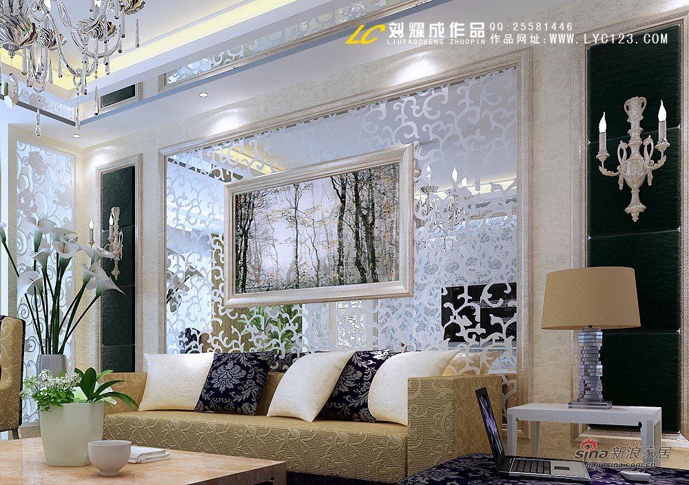 简约 二居 客厅图片来自用户2738820801在16万缔造欧式低调奢华35的分享
