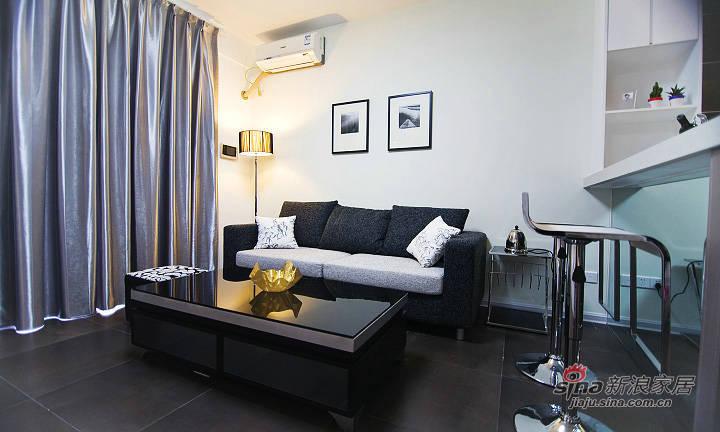 现代 三居 客厅图片来自xiaowu_15在120平现代简约风格舒适居54的分享