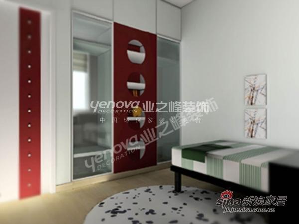 中式 三居 卧室图片来自用户1907658205在假日风景 165平 三室两厅高雅新中式35的分享