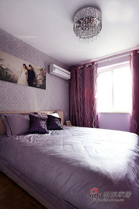 简约 二居 卧室图片来自用户2556216825在4.6万搞定80平浅咖浪漫2居17的分享
