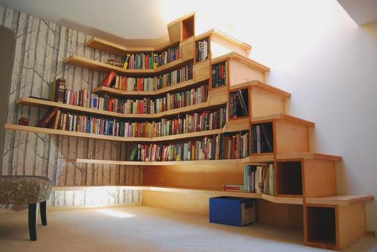 这样的书架能不爱嘛~