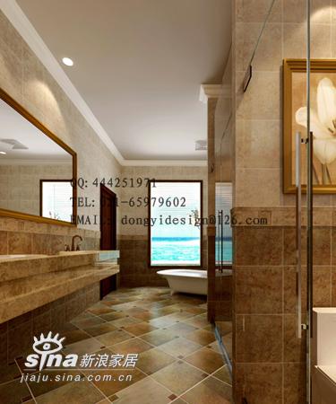 欧式 别墅 卫生间图片来自用户2745758987在别墅73的分享