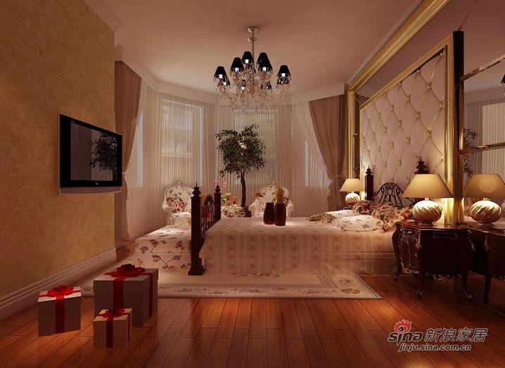 欧式 别墅 卧室图片来自用户2746953981在【精美高清-沈阳实创装饰】31的分享