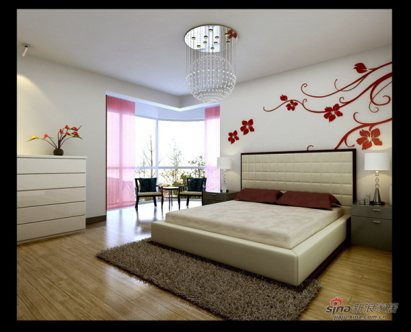 手绘的卧室