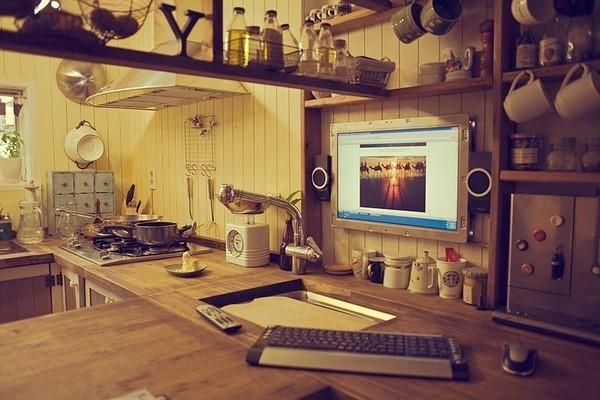 森女+科技的厨房